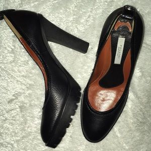 POLLINI Made in Italy Black Heels Size 37.5